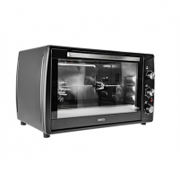 Mini orkaitė Camry Mini Oven CR 6017 63 L, Table top, Black, 2200 W Mikrobangų ir elektrinės krosnelės