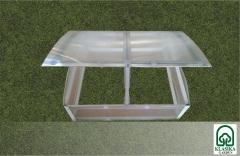 Daigynas Klasika su 4mm polikarbonatine danga (0,93 m2) Šiltnamiai