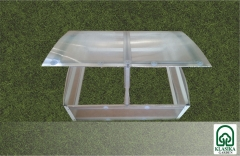 Šiltlysvė-daigykla KLASIKA su polikarbonatine danga