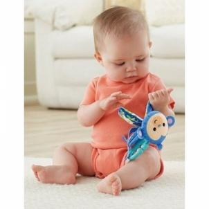 Minkšta knygutė-beždžionė CBH87 / CCG04 Fisher Price Mattel Žaislai kūdikiams