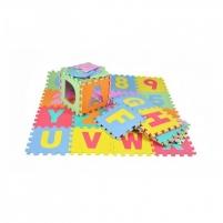 Minkštas kilimėlis - dėlionė 29x29cm 36el. Lavinimo žaislai