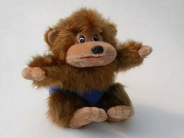 Minkštas žaislas Bezdžionėlė BE-165 40 x 48 x 37 cm