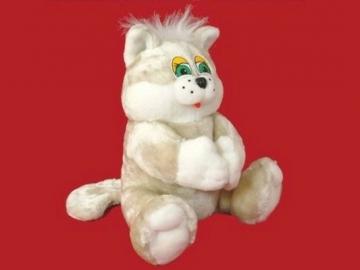 Minkštas žaislas Katinėlis Rainis didelis KR-3 45 x 54 x 55 cm Мягкие игрушки