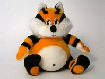 Minkštas žaislas Katinėlis Smaguris KT-1 50 x 53 x 50 cm Minkšti žaislai