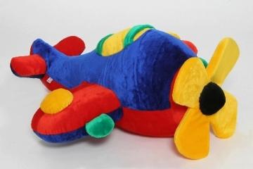 Minkštas žaislas Lėktuvas LE-333 55 x 110 x 110 cm Minkšti žaislai