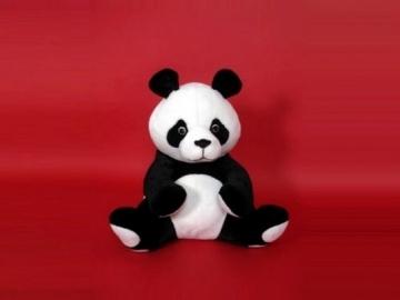 Minkštas žaislas Panda maža PD-150 43 x 45 x 40 cm Minkšti žaislai