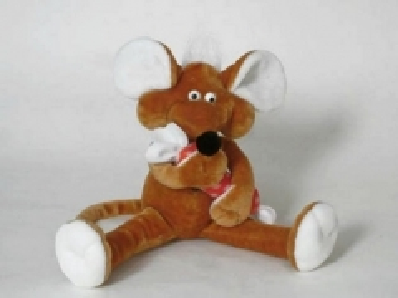 Minkštas žaislas Peliukas su saldainiu did. PL-146 52 x 52 x 63 cm Minkšti žaislai