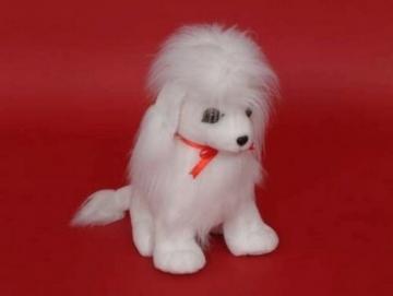 Dog Poodle sėdi SP-4 47 x 23 x 51 cm Soft toys