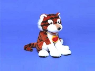 Minkštas žaislas Tigras Jonas mažas TR-292 32 x 32 x 42 cm Minkšti žaislai
