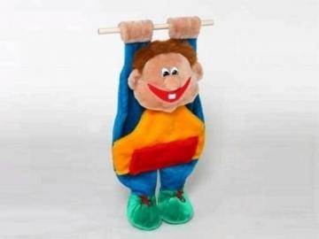Minkštas žaislas Vaikas kabo VA-187 12 x 38 x 62 cm Minkšti žaislai