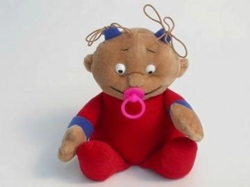 Minkštas žaislas Vaikas VA-1 47 x 36 x 15 cm Minkšti žaislai
