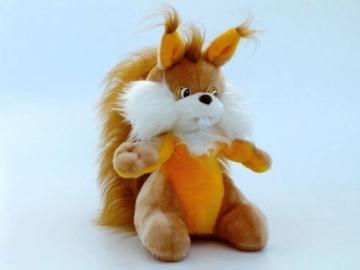 Minkštas žaislas Voveraitė VO-141 39 x 30 x 45 cm Minkšti žaislai