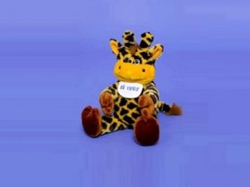 Minkštas žaislas Žirafa Aš Tavo ZI-331 50 x 31 x 25 cm Minkšti žaislai