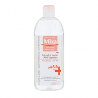 Mixa Micellar Water Anti-Dryness Cosmetic 400ml Facial cleansing