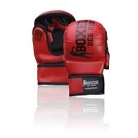 MMA pirštinės BOXEUR BXT-5211, raudonos