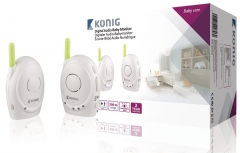 Mobili auklė Koenig digital audio baby monitor 2.4 GHz Safe infancy