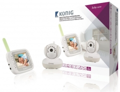 Mobili auklė Koenig digital video baby and child monitor 3.5 LCD 2.4 GHz