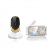 Mobili auklė Motorola Comfort 40 Connect Baby Monitor, White/Gold Saugiai kūdikystei