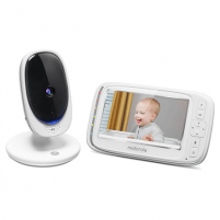 Mobili auklė Motorola MBP36SC Baby Monitor Single White Europe Motorola Saugiai kūdikystei