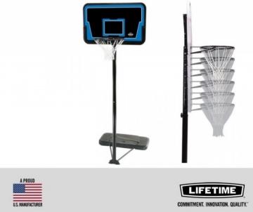 Mobilus krepšinio stovas LIFETIME STREAMLINE (2.45 - 3.05m) Krepšinio stovai