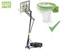 Mobilus krepšinio stovas su spyruokliuojančiu lanku Exit Galaxy 116x77cm Basketbola stendi