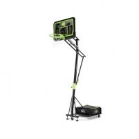 Mobilus reguliuojamas krepšinio stovas Exit Galaxy Black 112x73cm Basketball stands
