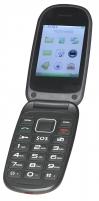 Mobilus telefonas Denver BAS-24100M Dual black/red ENG Mobilūs telefonai