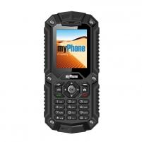 Mobilus telefonas MyPhone HAMMER Dual Sim black ENG/RUS