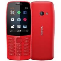 Mobilus telefonas Nokia 210 Dual Sim red Mobilūs telefonai