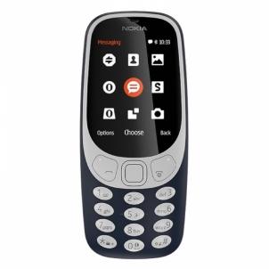 Mobilus telefonas Nokia 3310 DS Dark Blue ENG