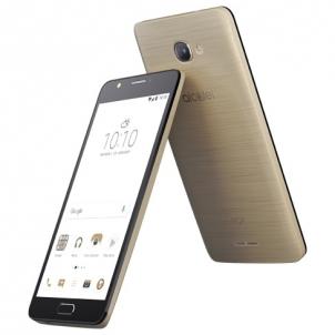 Mobile phone POP4S Dual Sim Metal Gold