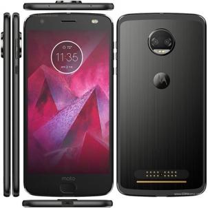 "Mobilusis telefonas Motorola Moto Z2 Force XT17896-06 Black, 5.5 "", P-OLED, 1440 x 2560 pixels, Qualcomm Snapdragon, 835, Internal RAM 6 GB, 64 GB, microSD, Dual SIM, Nano-SIM, 3G, 4G, Main camera Dual: 12 MP, Secondary camera 5 MP, Android, 7.1.1,"
