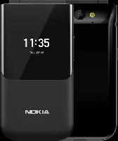 Mobilusis telefonas Nokia 2720 Flip Dual black Mobilūs telefonai