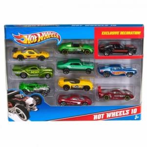 54886 Набор modeliukai Hot Wheels, 10 vnt. MATTEL MIX