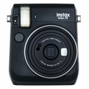 Momentinis fotoaparatas INSTAX Mini 70 Black + 10pcs paper