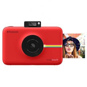 Momentinis fotoapratas Polaroid Snap Touch Instant Digital Camera Red Momentiniai fotoaparatai
