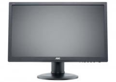 Monitor AOC e2260Pq/BK 22, 2ms GTG, D-Sub, DVI-D, DP, black