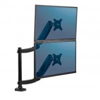 Monitoriaus laikiklis Fellowes - arm for 2 monitors upright - Platinum series Monitorių laikikliai, stovai