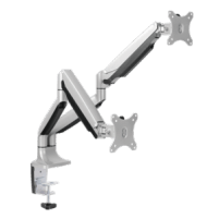 Monitoriaus laikiklis LOGILINK - Dual alumium monitor desk mount,13-27, max. 9 kg