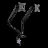 Monitoriaus laikiklis LOGILINK - Dual monitor desk mount,13-27, max. 6 kg