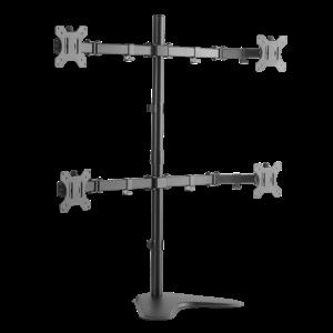 Monitoriaus laikiklis LOGILINK - Quad monitor desk stand,13-32, max. 8 kg