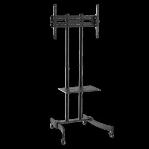 Monitoriaus laikiklis LOGILINK - TV stand cart, adjustable TV height, 37-70, max. 40 kg