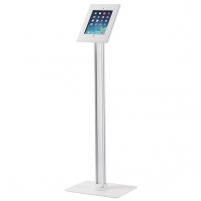Monitoriaus stovas NewStar Tablet Floor Stand (for Apple iPad 2/3/4/Air/Air 2) TABLET-S300WHITE Monitorių laikikliai, stovai