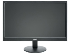 Monitorius AOC E2070SWN 19.5 LED HD+ VGA, 200 cdm2, 90/60 LCD ir LED monitoriai