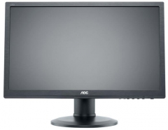 Monitorius AOC e2460Phu 24, LED, wide Full HD, HDMI, DVI, Garsiakl. Lcd monitori
