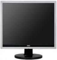 Monitorius AOC e719sda 17, LED, 5ms, DVI, Juodai sidabrinis