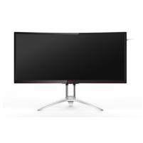 "Monitorius AOC Gaming AG352QCX 35 "", 2560 x 1080 pixels, 21:9, MVA, 4 ms, 300 cd/m², Black/Silver, VGA, HDMI, DP"