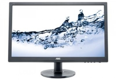 Monitorius AOC Monitor LED e2460Sh 24 Full HD, 1ms, D-Sub, DVI-D, HDMI, speaker LCD ir LED monitoriai