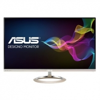 "Monitorius Asus MX27UC 27 "", IPS, UHD, 3840 x 2160 pixels, 16:9, 5 ms, 300 cd/m², Icicle Gold, Black LCD ir LED monitoriai"