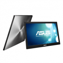 "Monitorius Asus Portable monitor MB168B 15.6 "", TN, HD ready, 1366 x 768 pixels, 11 ms, 200 cd/m², Black, Silver, USB 3.0"